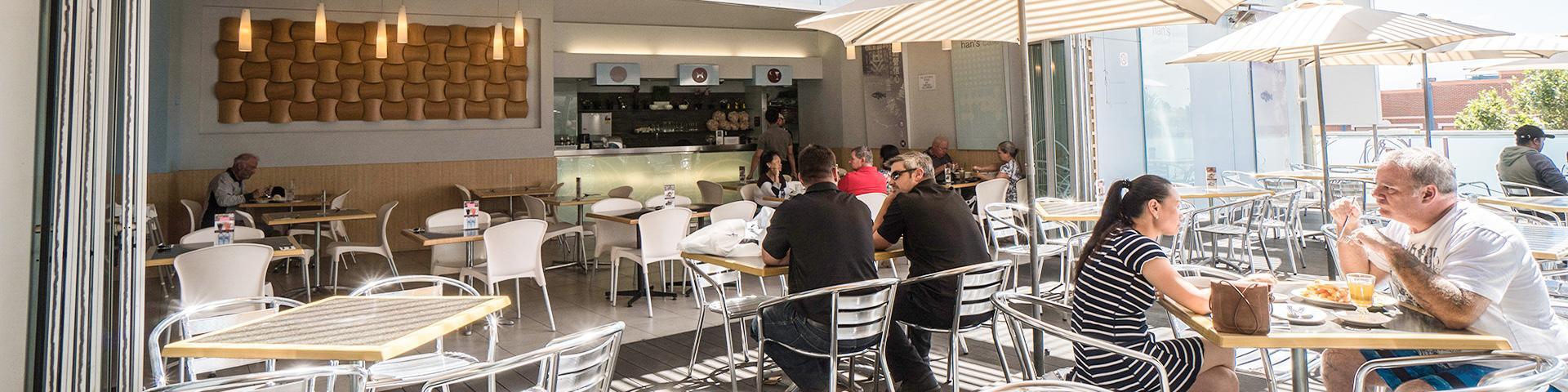 Hans Cafe Warwick Menu